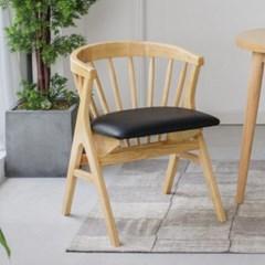 DD059 가죽체어 원목의자 디자인의자 체어 카페의자_(3443949)