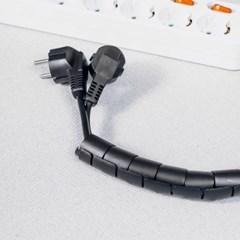 3M 스피드 전선정리 스네이크 커버 32mm