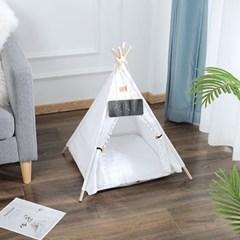 강아지 고양이 인디언 펫 텐트 하우스 t