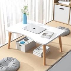 흔들리지 않는 1인용 좌식책상 앉은뱅이 침대 책상