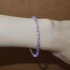 lavender_crystal_br 라벤더 크리스탈 팔찌