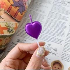 Purple Heart Candle 퍼플하트캔들