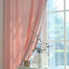 모던항균커튼 핑크 140X230