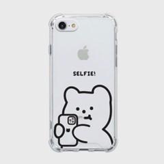 selfie gummy [탱크투명 폰케이스]