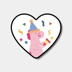 [하트톡♥] party pink dino