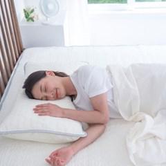 천연라텍스 쿨매트 여름침대매트 냉감 싱글 퀸세트 진드기차단 B