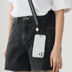 반디 스트랩 케이스 리본체인 VS-C01 아이폰 갤럭시 폰케이스