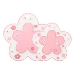 벚꽃 실리콘 냄비 받침대 뚝배기 받침