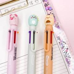 [맙소사잡화점] 젤리 동물 6색 볼펜