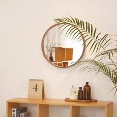 하임 티크 원형거울