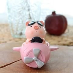 핑크 돼지 비행기