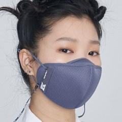 BTS 브레스실버 타이니탄 스포츠프로 마스크 1매 스트랩세트