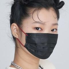 BTS 브레스실버 타이니탄 스퀘어마스크7팩21매입 스트랩 파우치 세트