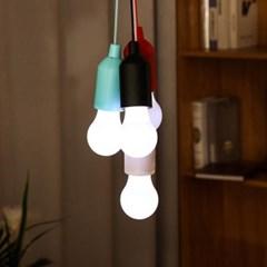 감성캠핑 당기는 전구 LED 조명 건전지타입