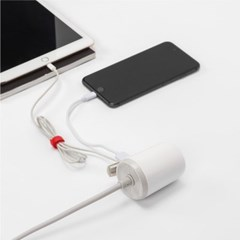 [프리어블탭] USB 충전 휴대용 멀티탭