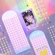 [텐바이텐 단독]하이틴 알파벳+넘버 리무버 씰스티커 12종 세트