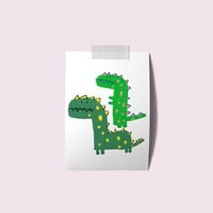 엽서 - 우리는공룡