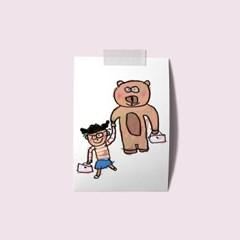 엽서 - 우리곰돌이랑