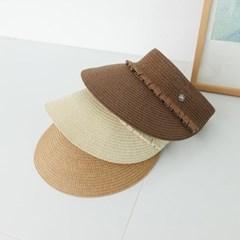 셔링 지사 챙넓은 데일리 자외선차단 패션 썬캡 모자
