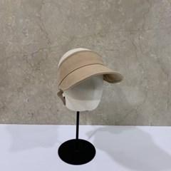 린넨 무지 기본 챙넓은 자외선차단 패션 썬캡 모자