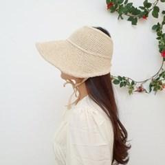 턱끈 기본 심플 챙넓은 패션 보넷 데일리 썬캡 모자