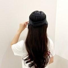 벨크로 기본 무지 챙넓은 패션 자외선차단 썬캡 모자