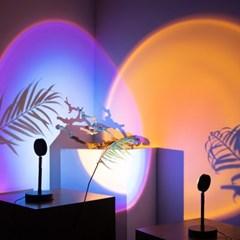 LED 선셋 감성 만달라키조명 3colors (국내배송)