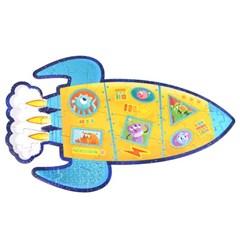 [공간27] 로켓 39피스 플로어 퍼즐 3세이상