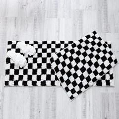 체스 발매트(욕실용/주방용)