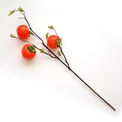 인테리어 모조과일 소품 단감 조화가지 68cm 2size