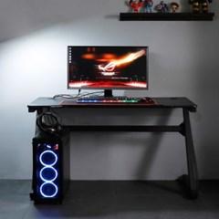 엘리브 네르 PC 게이밍 컴퓨터 책상 1000 Z형 ch057