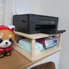 에이스독서대 원목 프린터받침대 거치대 선반