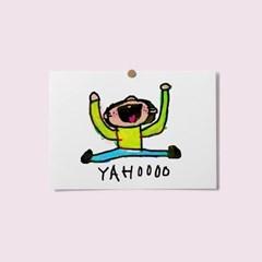 엽서 - yahooo