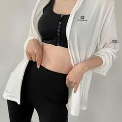여자 여름 간절기 운동복 점퍼 가벼운 후드 집업