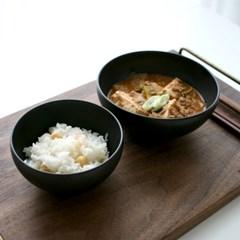 심플 브라운매트 5종 밥그릇 국그릇 찬기 접시