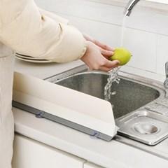주방 물받이 씽크대 정리 물튀김 방지 싱크대 물막이