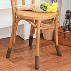 두툼한 니트 베이직 식탁 의자 다리 양말 커버