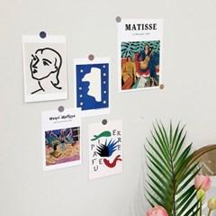 앙리 마티스 미니 포스터 2p + 엽서 10p 세트 (데코 스티커 포함)