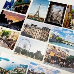 프랑스 여행 사진 엽서 12장 세트
