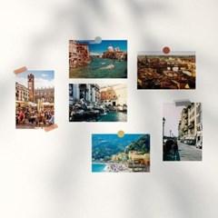 이탈리아 여행 사진 엽서 12장 세트