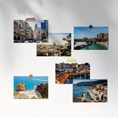 스페인 여행 사진 엽서 12장 세트