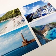 그리스 산토리니 여행 사진 엽서 12장 세트