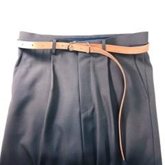 [주문제작]시그니쳐 벨트 Natural - Buttero Leather (무료각인)