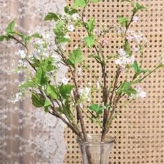 조팝 나무가지 조화 (2colors)_(2225883)