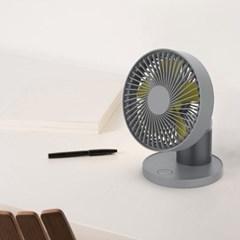 요이치 써큘레이터형 휴대용 무선 중소형 탁상용 선풍기 카링