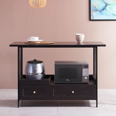 프레스 홈카페 테이블 아일랜드 홈바 1200 (2colors)