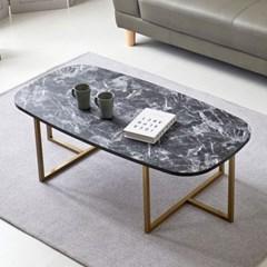 칼린 타원형 거실 좌식 테이블 1200 (6colors)