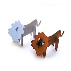 종이동물 조립퍼즐 사자
