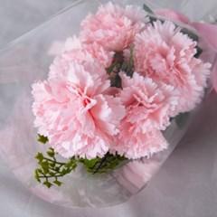 어버이날 카네이션 꽃다발 이벤트꽃 투명한사랑_(387271)