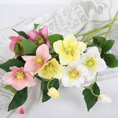 고속터미널꽃시장 크리스마스로즈 장미조화 53cm_(378916)